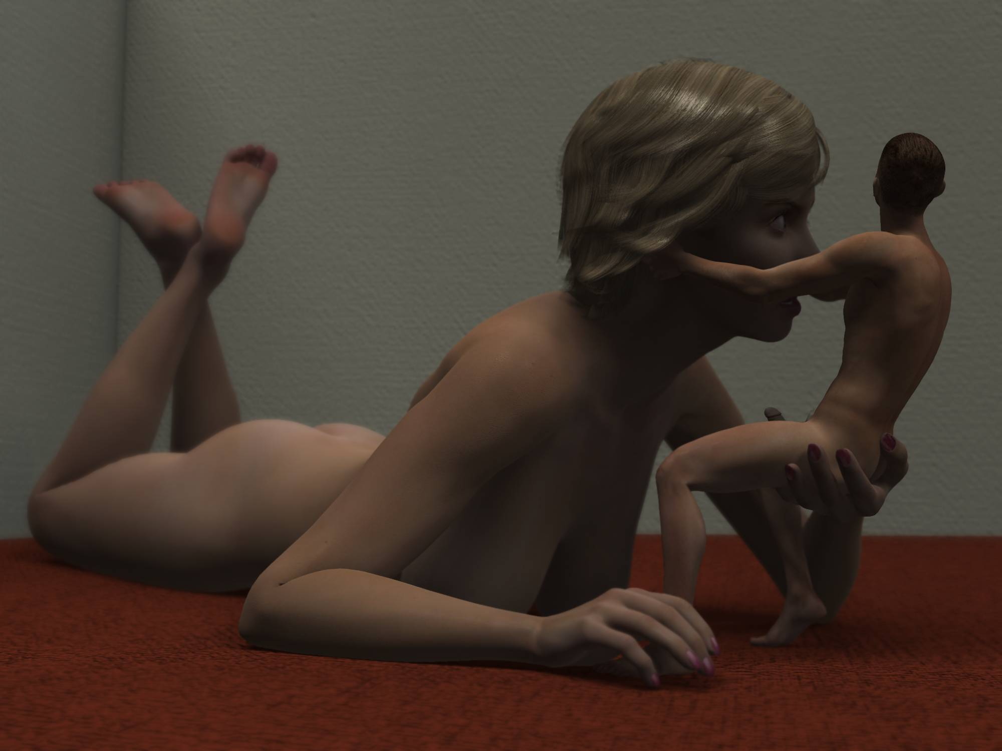 giantess blow job