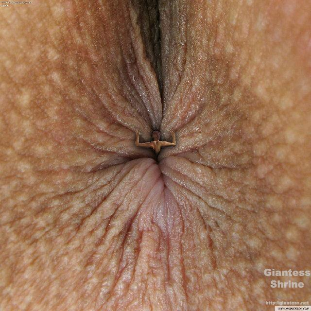 Giantess Anal Insertion