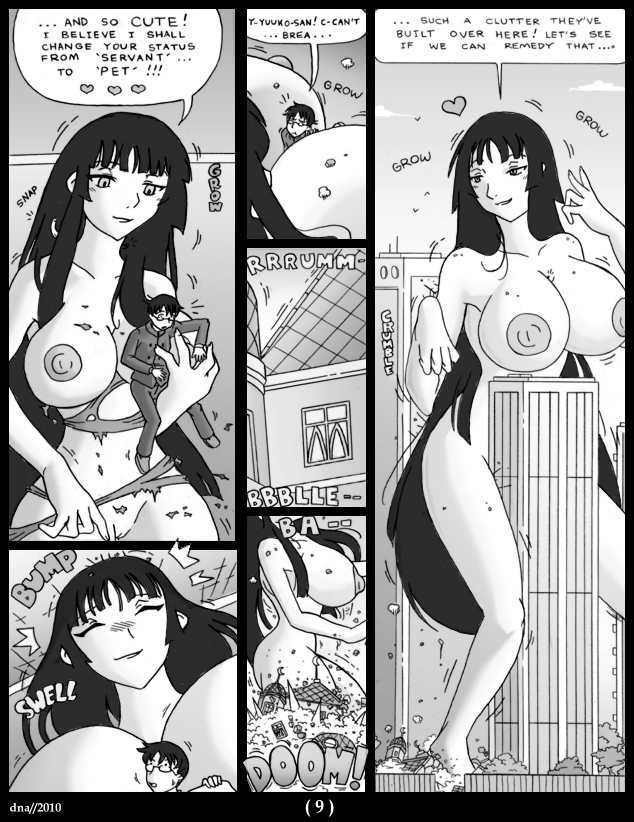 Mega Giantess Manga