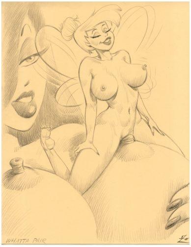 ... nipple_play nude shrunken_women tinkerbell zimmerman) - Giantess Artwork ...