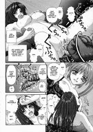 anime drawing handoherudo hando_herudo manga monochrome shrunken_women 家内制自転車操業。 // 842x1200 // 301.1KB