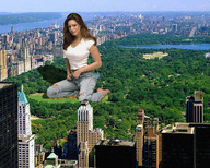bridge brunette city cityscape collage giantess kelly_brook kneeling lake looking_at_viewer park river skyscrapers trees wonderslug // 1280x1024 // 618.3KB