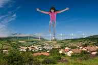 barefoot clothed collage countryside giantess kerstin looking_at_viewer millau_viaduct raised_foot sky wonderslug // 3431x2283 // 1.5MB